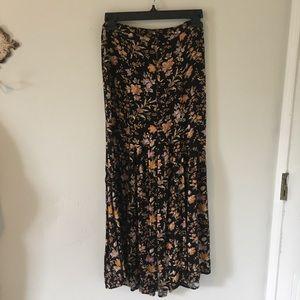 AE—Floral Maxi Skirt